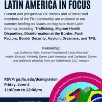 FIU in DC: Migration Briefing: Latin America in Focus