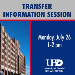 UHD Virtual Transfer Information Session