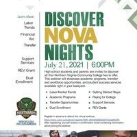 Discover NOVA Night
