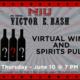 NIU Athletics Victor E. Bash: Virtual Wine and Spirits pull