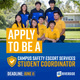 Apply To Be a Campus Safety Escort Services Student Coordinator
