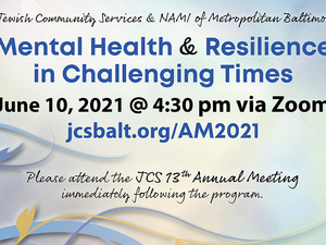 Mental Health & Resilience in Challenging Times  June 10 @ 4:30 pm