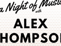 Event image for HSRT: A Night of Song with Alex Thompson