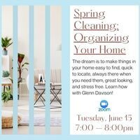 Spring Cleaning: Organizing Your Home
