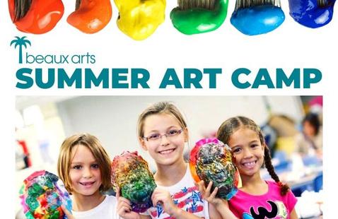 Beaux Arts Summer  Art Camp