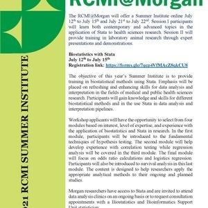 RCMI@Morgan Summer Institute