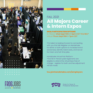 Career expo poster