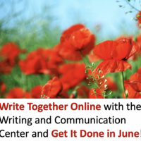 Writing Together Online: Get It Done In June