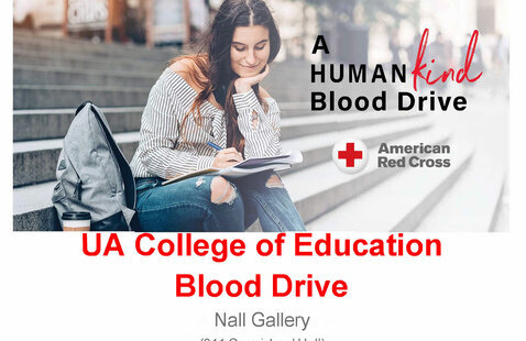 College of Education Blood Drive Flyer