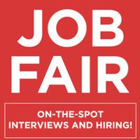 Job Fair, on the spot interviews and hiring
