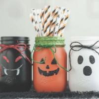 Make & Take: Halloween Mason Jars