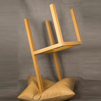 Castle,Chair Standing on Its Head, 2001.14 © Wendell Castle