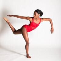 summer dance intensive student