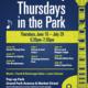 Thursdays in the Park Free Concert Series