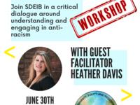 SDEIB Presents: Anti-Racism Workshop