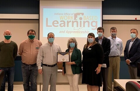 Ivy Tech-Lafayette launches a Telecommunications State Earn and Learn Program with the Indiana Office of Work-Based Learning and Apprenticeship and numerous employer partners