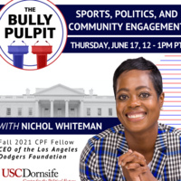 Sports, Politics, and Community Engagement with Nichol Whiteman, CEO of the Los Angeles Dodgers Foundation