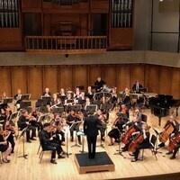 Nebraska Medical Orchestra in performance