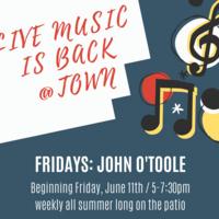 Live Music: John O'Toole