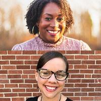 Monique Alexander (top) and Elizabeth Soslau (bottom)
