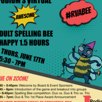 Podium's Virtual Awesome Adult Spelling Bee