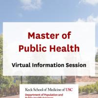 USC MPH Information Session