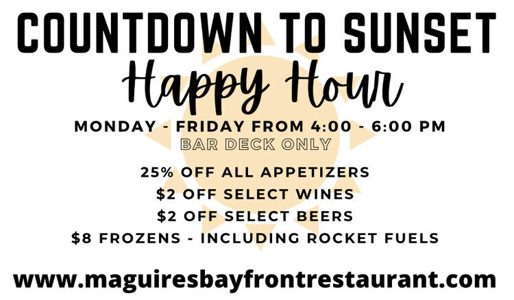 Countdown to Sunset - Happy Hour
