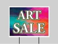 Online Art Exhibit & Sale