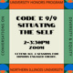 Honors CODE 1 workshop-Situating The Self