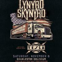 Lynrd Skynyrd Big Wheels Keep on Turnin' Tour