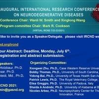 Inaugural International Conference on Neurodegenerative Diseases