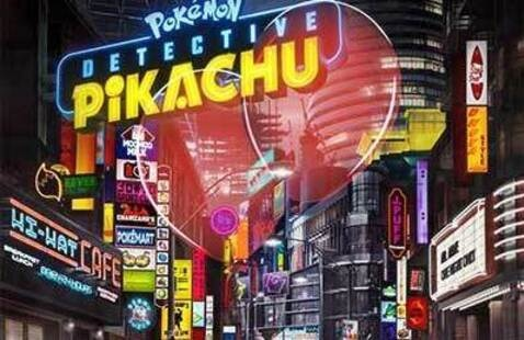 Movie In The Park- Pokemon: Detective Pikachu