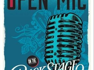 Open Mic on the Backstage