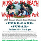 Music on the Beach Summer Concert Series  at Whipple Dam State Park with Pure Cane Sugar
