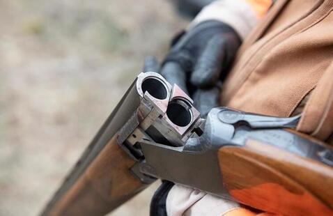 unloaded rifle