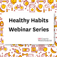 Healthy Habits Webinar Series - Session 4