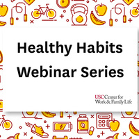 Healthy Habits Webinar Series - Session 8