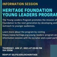 FIU in DC: Heritage Foundation Internship Information Session
