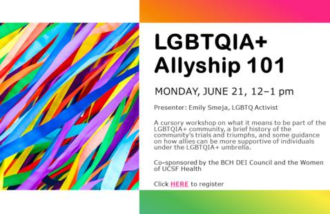 LGBTQIA+ Allyship 101