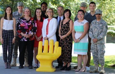 Career and internship Center staff photo