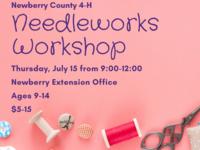 Newberry County 4-H Needleworks Workshop