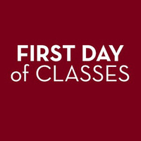 First Day of Fall Semester Classes
