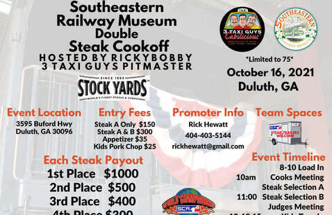 3rd Annual Steak Cookoff flyer