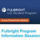 Info Session: Fulbright Program