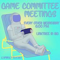 Game Committee Meeting