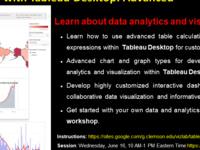 Data Analytics with Tableau Desktop: Advanced