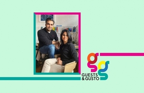 Reinvent tradition with INDO- founders Urvi Sharma and Manan Narang on 'Guests and Gusto'