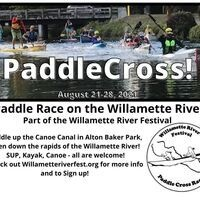 Racers start in the Duck pond, heading upriver