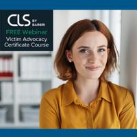 Victim Advocacy Certificate Course | Informational Webinar
