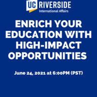 """""""Enrich Your Education with High-Impact Opportunities"""" workshop"""